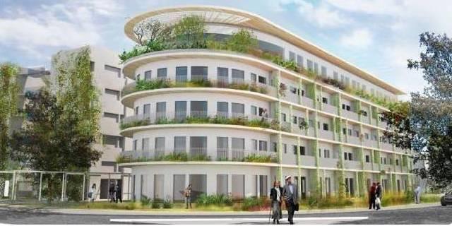 Проект комплекса социального жилья в Герцлии. 110 квартир - для очередников Министерства строительства.